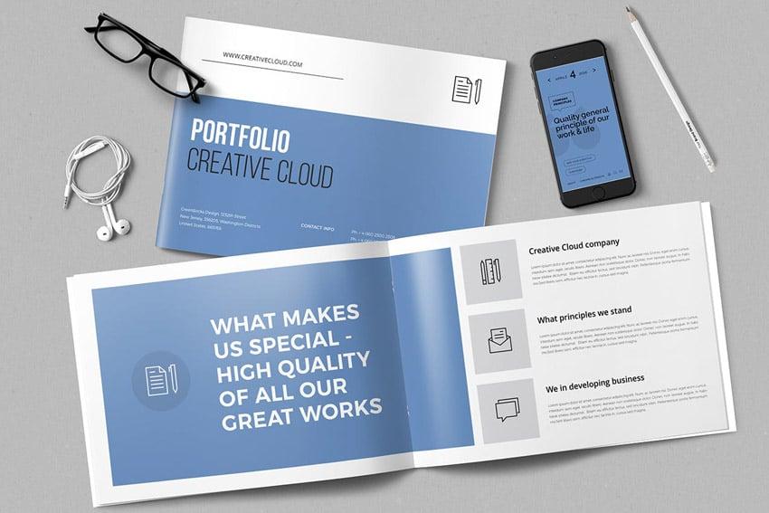 Portfolio Template InDesign