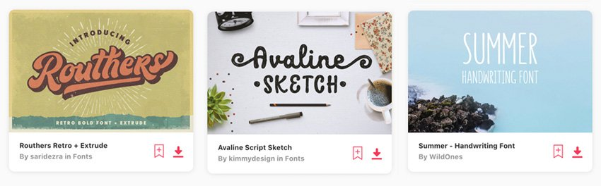 Font Selections