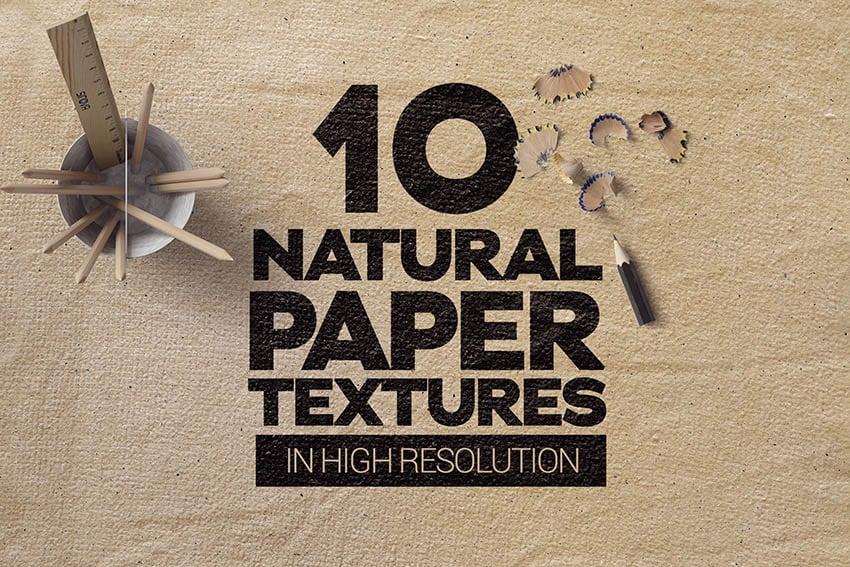 Natural Paper Textures
