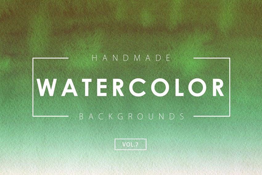 Handmade Watercolor Backgrounds