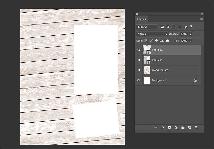 Adding content and naming layers