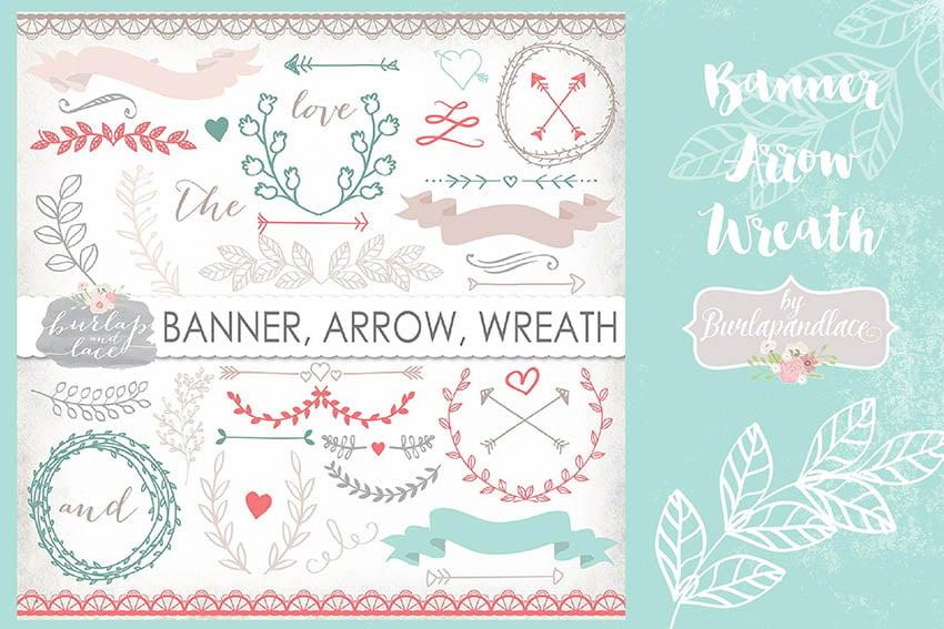 Digital Scrapbook Banners