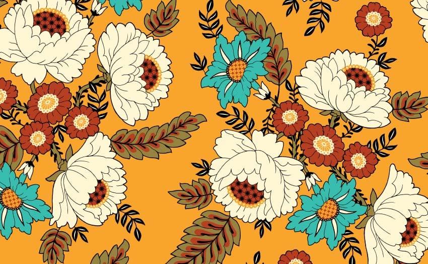 Floral Pattern by Gabriela Bellarosa