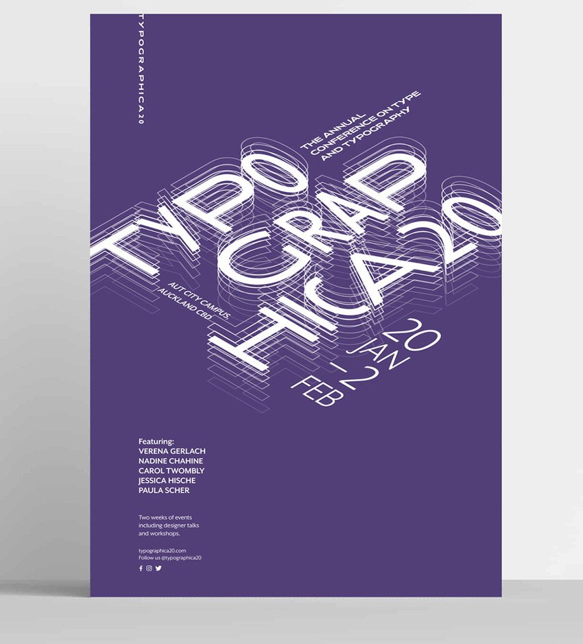 TYPOGRAPHICA20 by Jessica Kwong