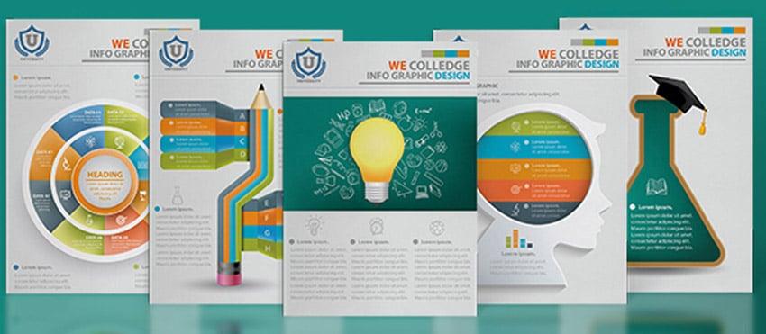 Education Infographics by Phongpat