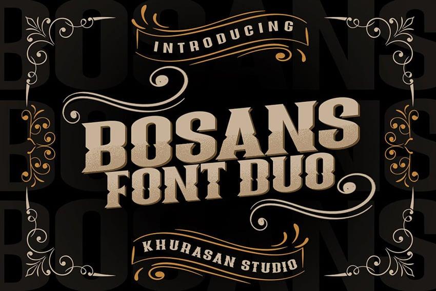 Bosans Font Duo