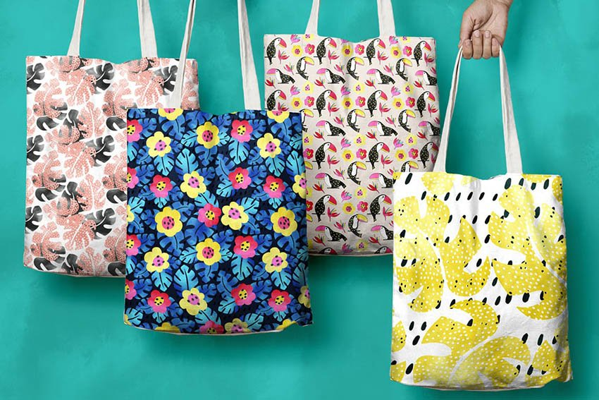 Tropical Graphic and Pattern Pack
