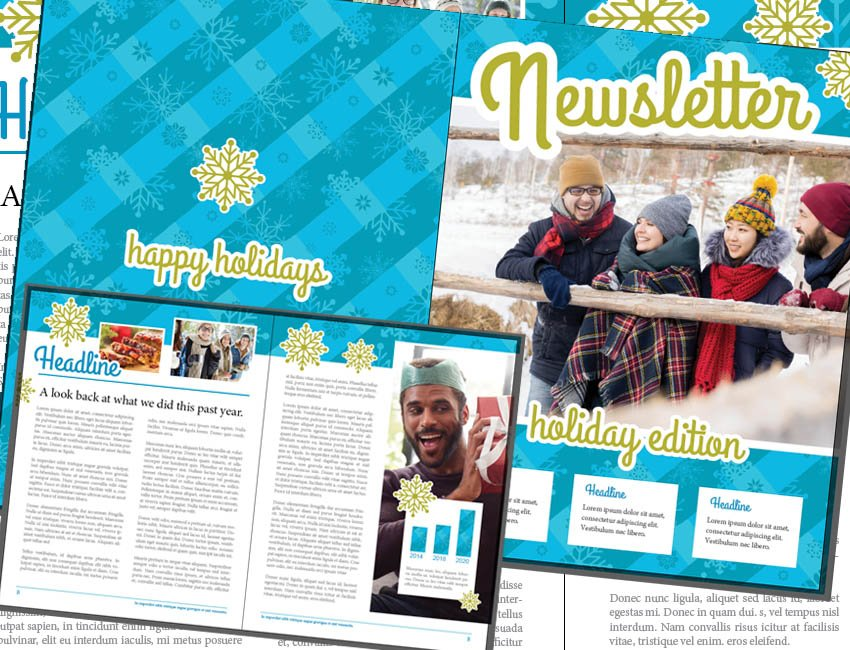 Example of Final Newsletter Design