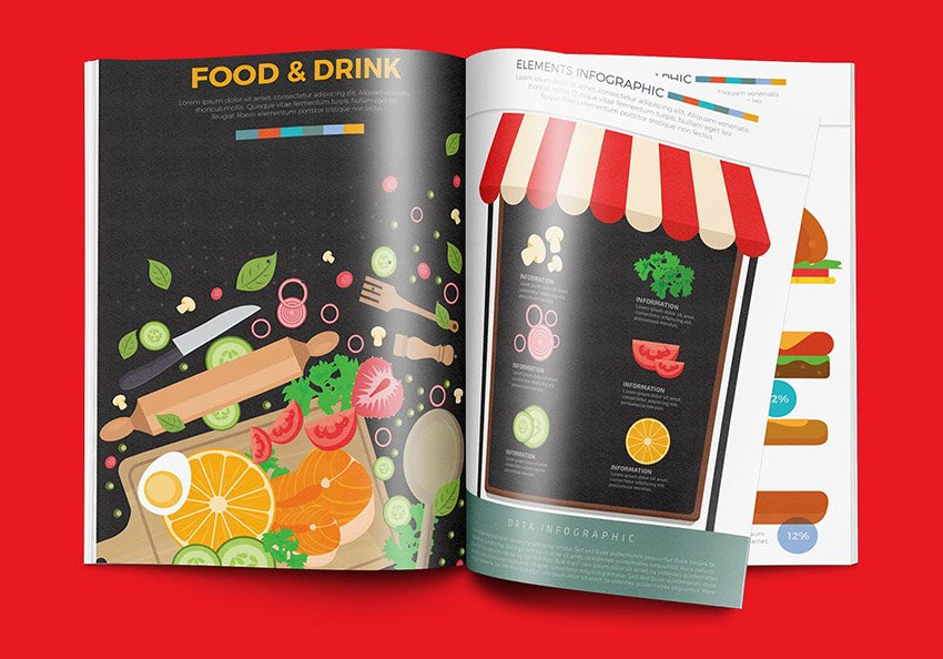 Food and Drink Infographic Design