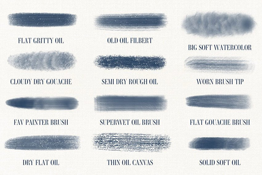 Custom Procreate Brushes from Art Brushes for Procreate by guerillacraft