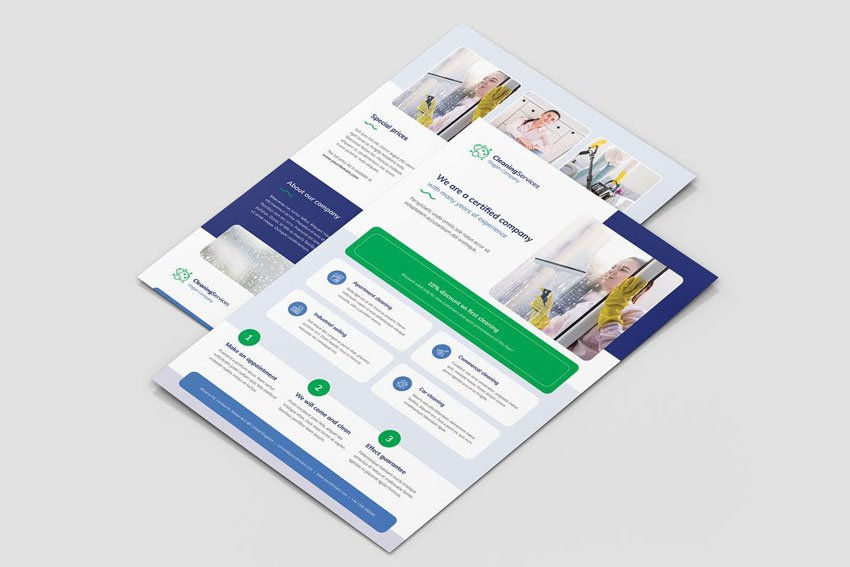Cleaning Service Template Flyer