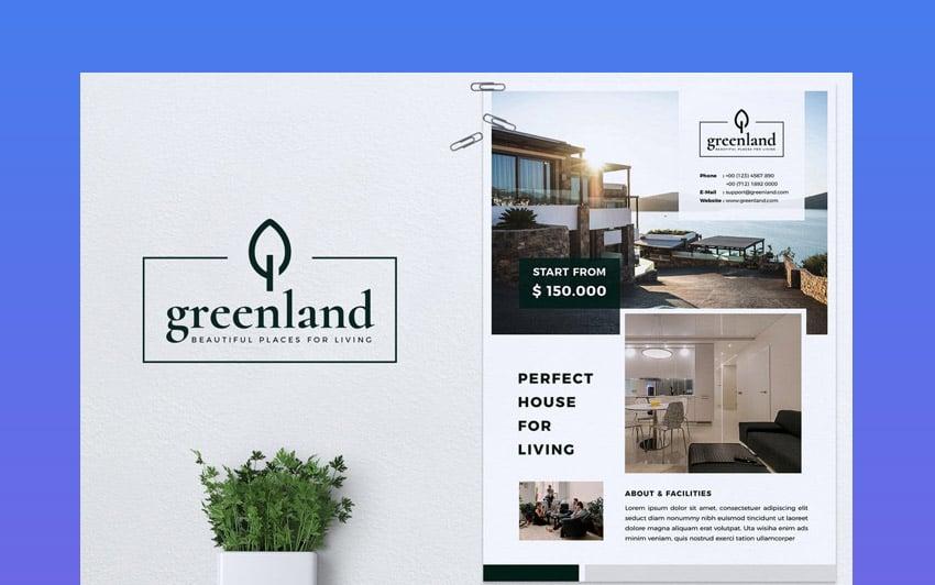 best real estate flyer design