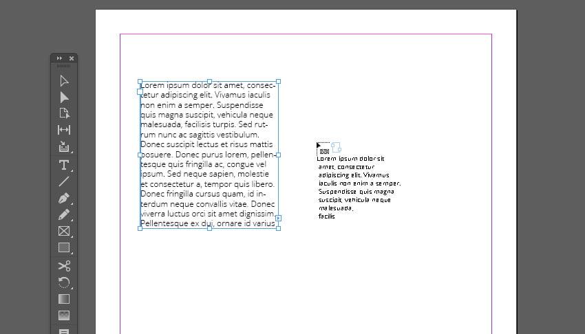 Overset Text Cursor