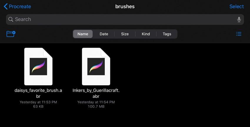 Photoshop Brush Files