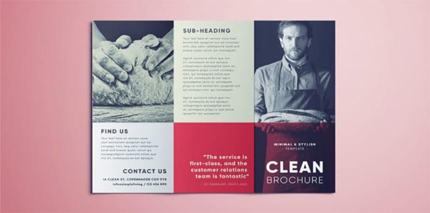 Clean Brochure Flyer