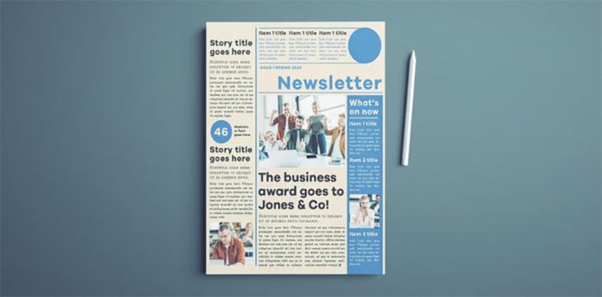 Newsletter Flyer Template