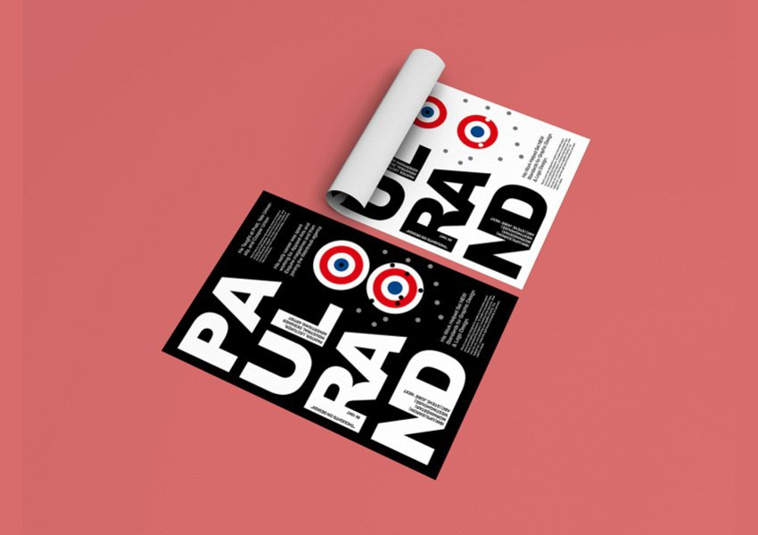 Posters Inspired by by Katerina Bot inspired by the works of Paul Rand