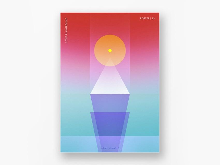 The Playground 13 poster design by Martina Ceravolo