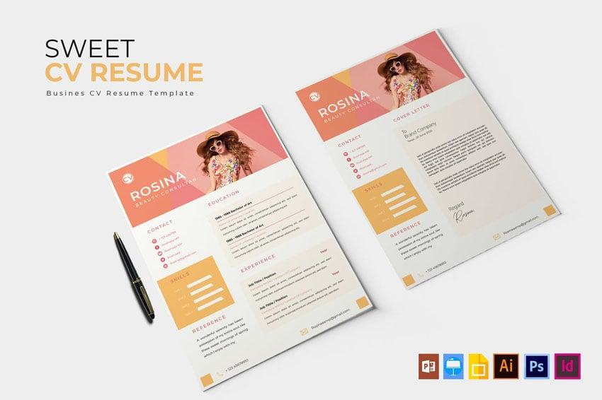 InDesign CV  Resume Template