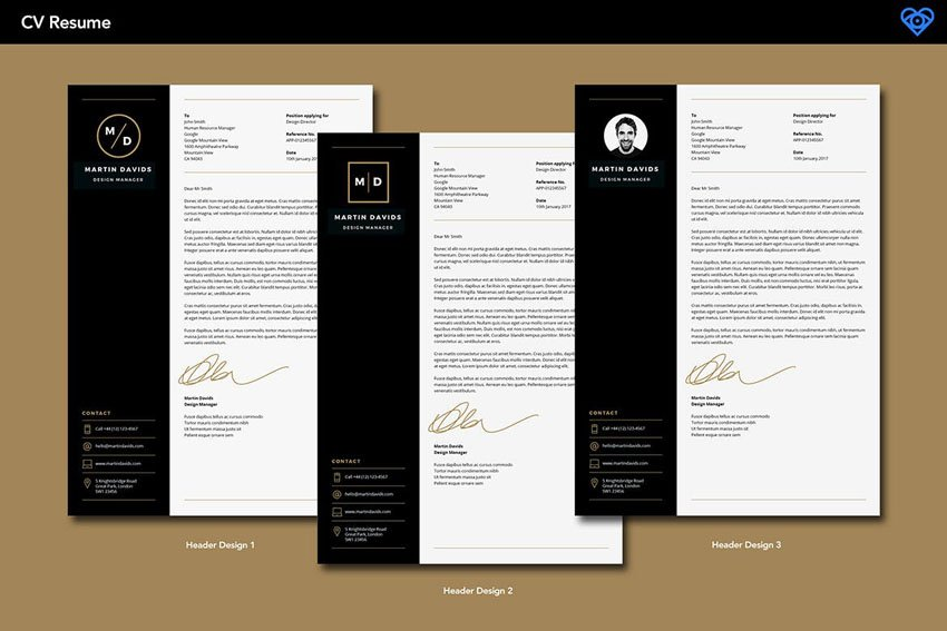 CV Resume Template InDesign