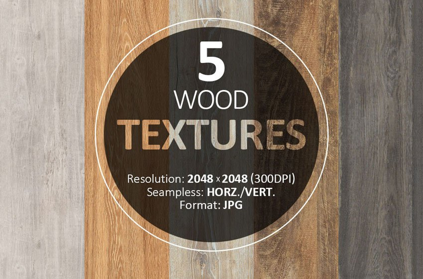 5 Free Wood Textures