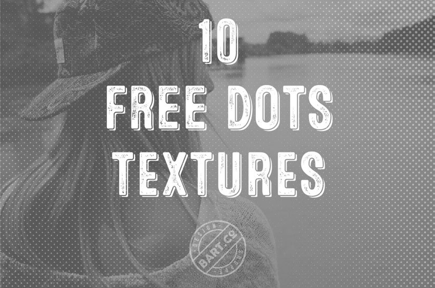 10 Free Dot Textures for Photo Overlays