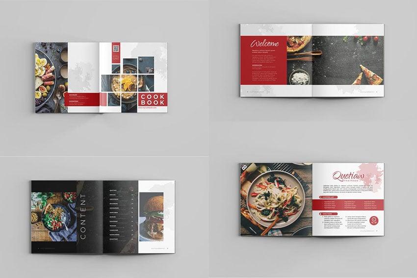 Cookbook template design