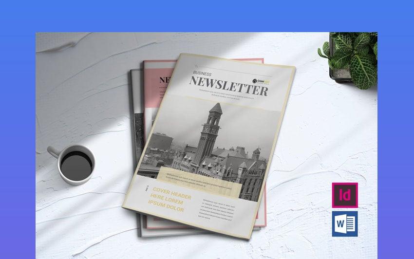 Newsletter Template Design