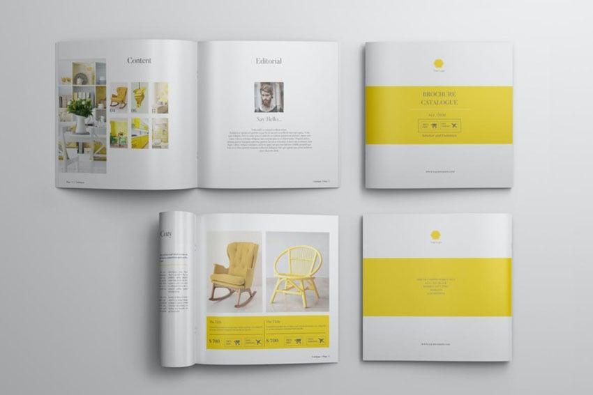 Square Catalogue Template