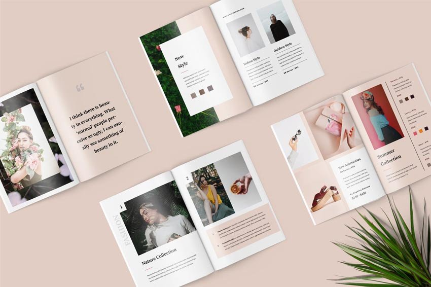 Fashion Lookbook Catalogue