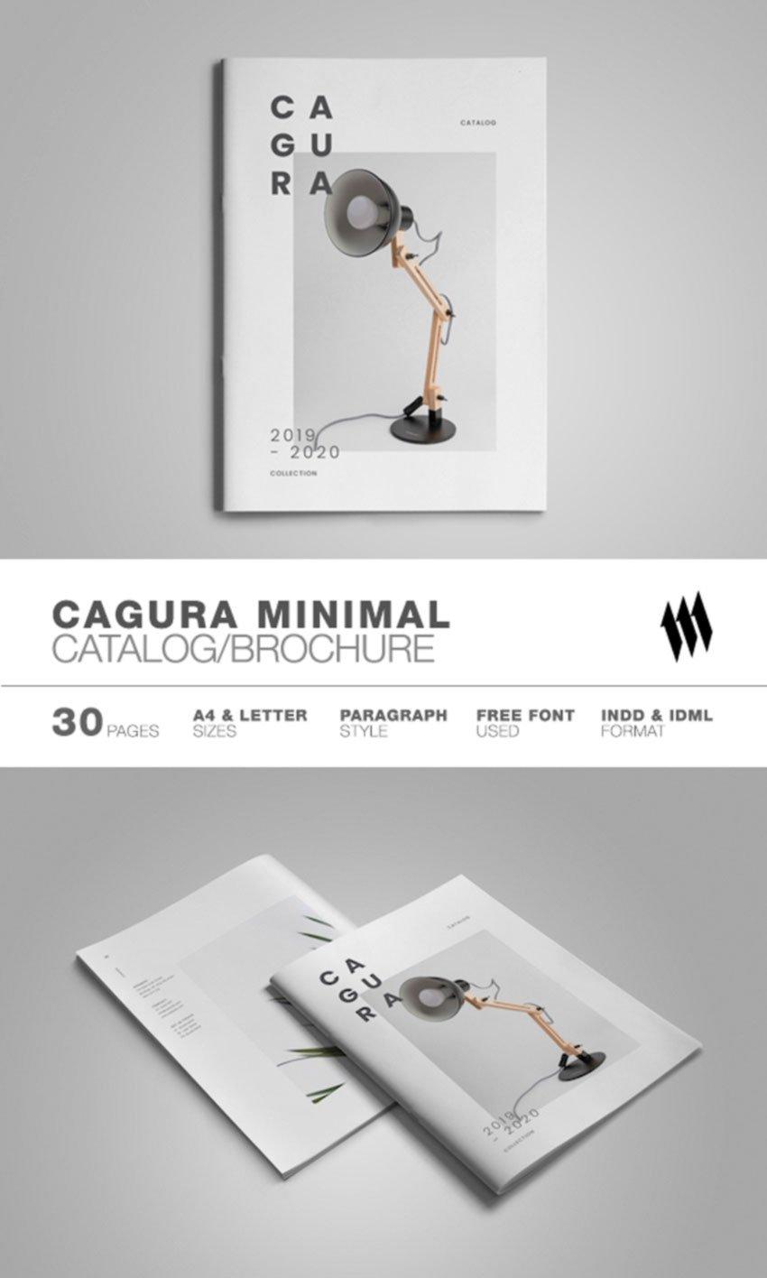 Minimal Catalog Brochure Template