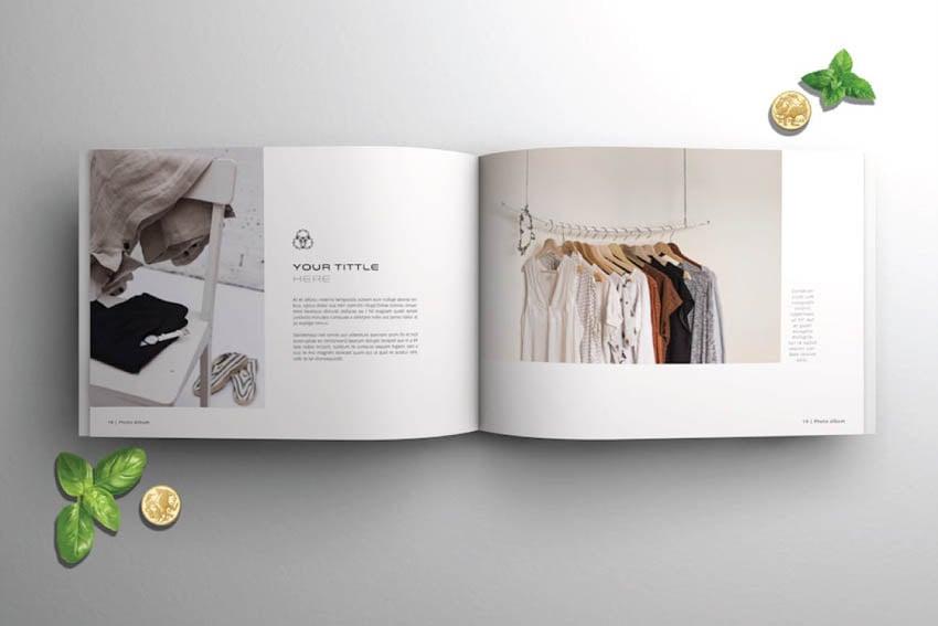 Photobook Template Album Design