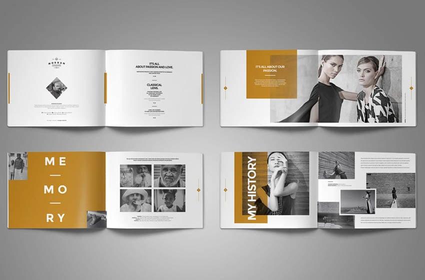 Photobook Template Adobe InDesign