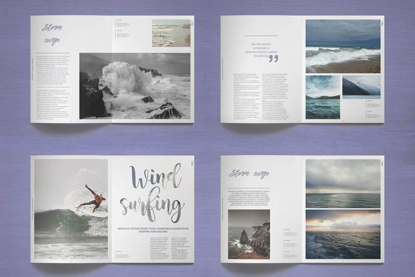 Photo Book Template Design