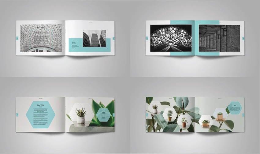 Landscape Photo Album Design