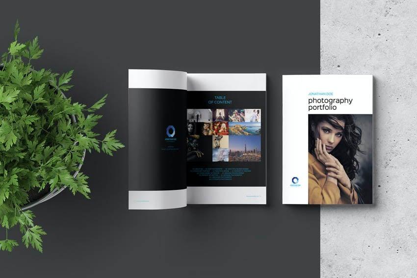Photobook Album Template Design