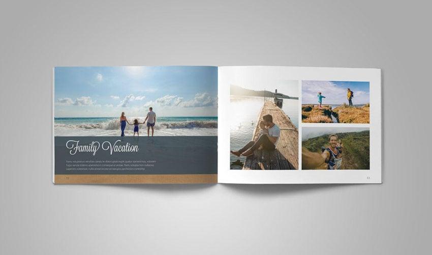 InDesign Photo Book Album Template