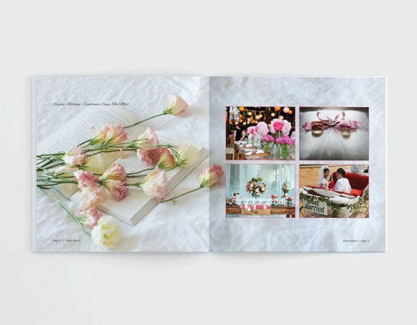 Wedding Photobook Template Download