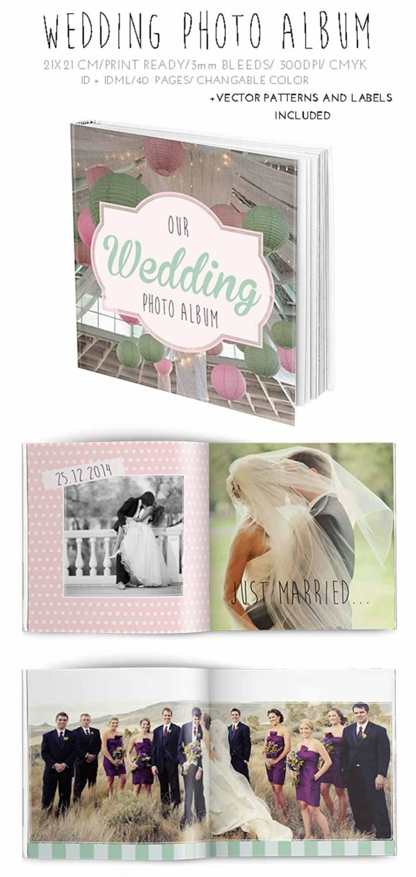 Wedding Photobook Template Album