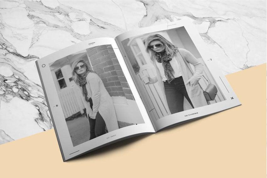 Fashion Lookbook Design