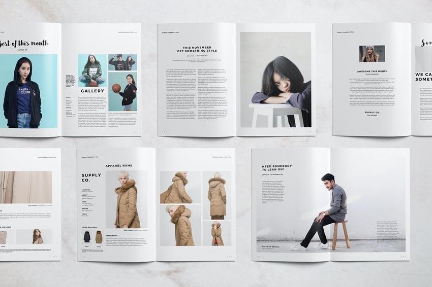 Stylish Look Book Design Template