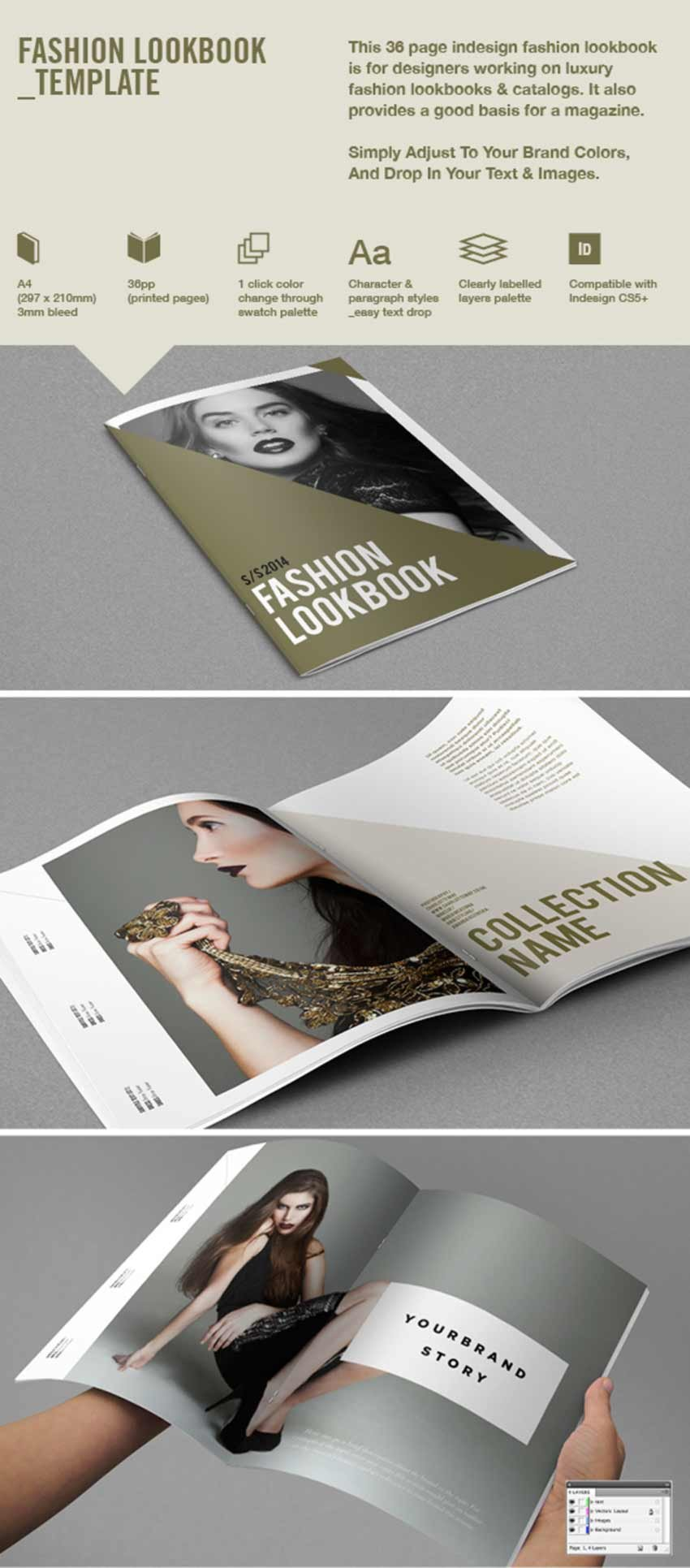 Fashion Product Lookbook Template