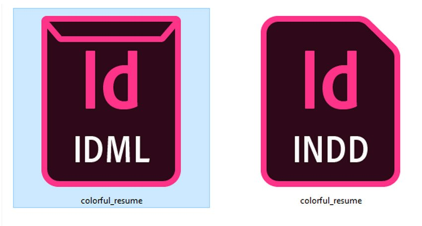 IDML INDD files