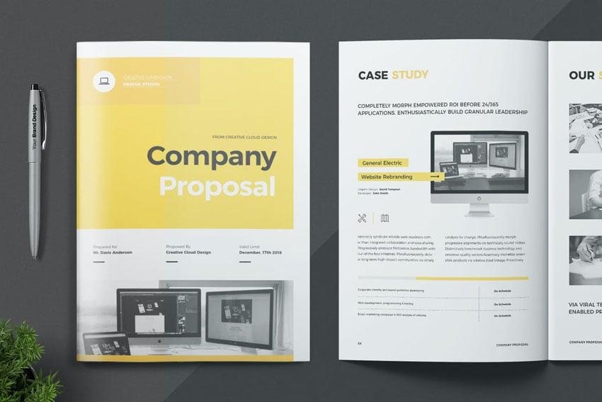business marketing proposal design