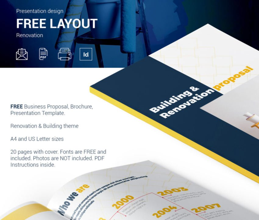 Free Business Proposal Presentation Template