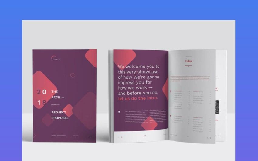 Proposal Design Template for Adobe InDesign