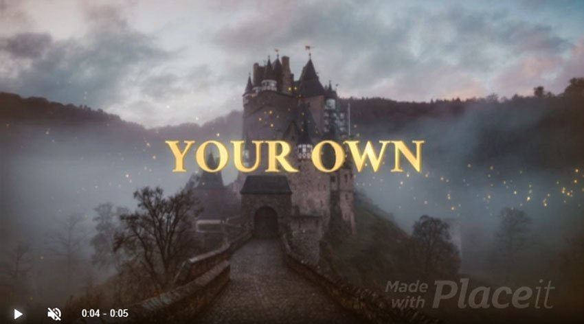 Fantasy RPG Gaming Animated Logo Introduction