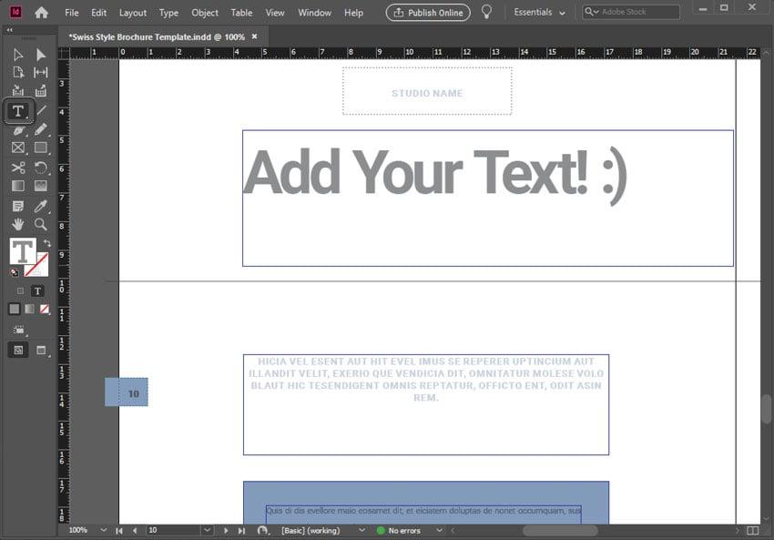 Adding Text