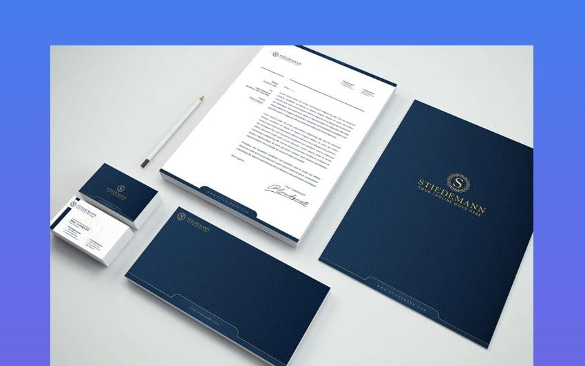 Luxury Branding Identity Stationery Pack