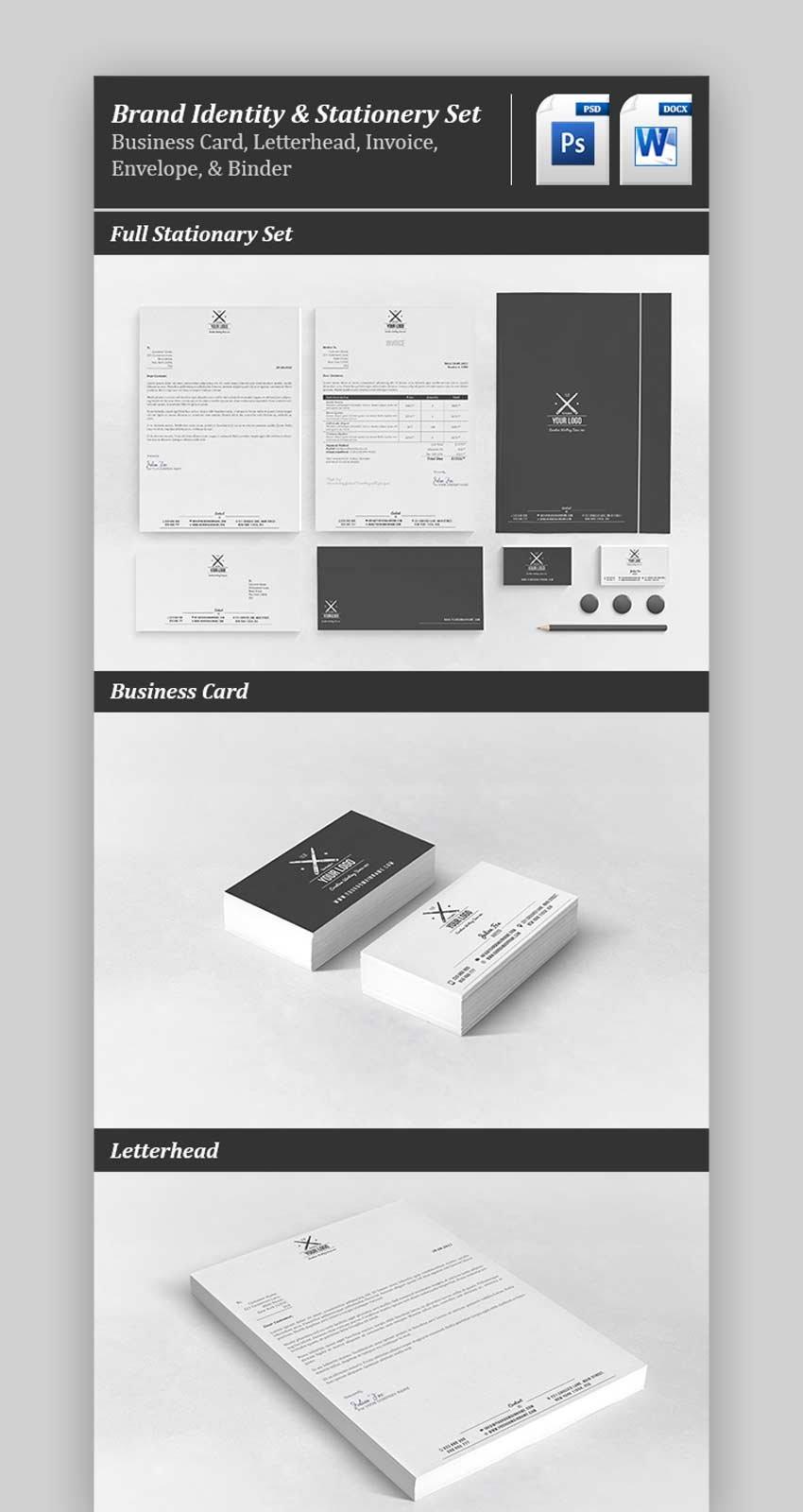 Professional Business Stationery Set